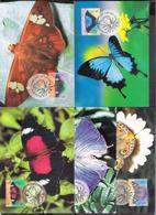 783  Butterflies - Papillons - CM Autralie X5 - 3,55 - Papillons