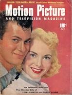 Motion Picture And Televison Magazine - N°9 -  April, 1954 - Revue De Cinéma Américaine - 1950-Maintenant