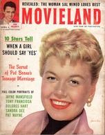 Movieland - N°4 - April, 1958 - Revue De Cinéma Américaine - Books, Magazines, Comics