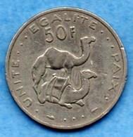 (r65)  DJIBOUTI  50 Francs 1986 - Djibouti