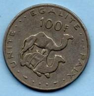 (r65)  DJIBOUTI  100 Francs 1977 - Djibouti