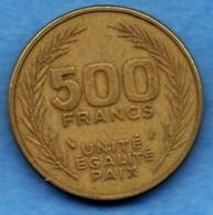 (r65)  DJIBOUTI  500 Francs 1989 - Djibouti