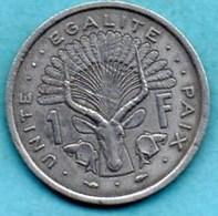 (r65)  DJIBOUTI  1 Franc 1977 - Djibouti