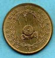 (r65)  DJIBOUTI  10 Francs 1977 - Djibouti