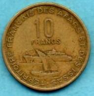 (r65)  FRENCH AFARS & ISSAS  10 Francs  1970 - Djibouti