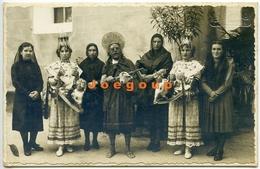 Foto Bestard Mujeres Vestimentas Fiestas Tipicas Pollensa Mallorca España 1940 - Personnes Anonymes