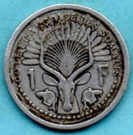 (r65) FRENCH SOMALILAND / 1 Franc 1959   COTE FRANCAISE DES SOMALIS / DJIBOUTI - Djibouti