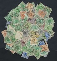 Lotje Met Circa 100 Zegels In Variërende Staat ; Zie Scan ! Inzet Aan 1 €   ! LOT 228 - 1869-1888 Lion Couché