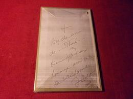 COLLECTION LIVRES AVEC AUTOGRAPHES °  ABBE  LLOPET OLETTE E VOL LES GAROTXES - Autogramme & Autographen