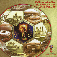 Russia 2018 Football WC 2018 PERF S/S   MNH - Ongebruikt