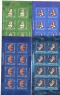 2006. Latvia, Christmas, 4 Sheetlets,  Mint/** - Letland