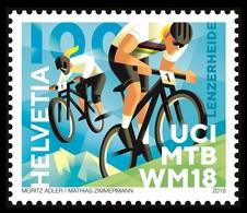 Switzerland 2018 Mih. 2550 UCI Mountain Bike World Championships MNH ** - Schweiz