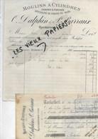 39 - Jura - ROCHEFORT - Facture DALPHIN & BARRAUX - Moulins - Farines - 1894 - REF 90B - France