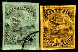 """Guatemala-0001a - Emissione: """"quien Sabe""""  (o) Used - Hanno Ancora La Colla Al Verso - - Guatemala"""