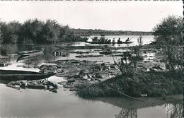 Un  Départ  Pour  La  Pêche  à  BAMACO   (  Soudan , Français  )     (  CPsm , Dentelée N Et B )  ) - Sudan