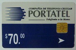 Mexico - Chip - Portatel - 1st Issue - N$ 70.00 - Used - Mexico