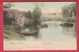 Abbaye D'Aulne - Ruines De L'église ... Jolie Carte Couleur - 1903  ( Voir Verso ) - Thuin
