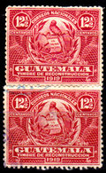 Guatemala-0074a - Emissione 1918-19 (+/o) Hinged/Used - - Guatemala