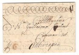 3676 - D'AMSTERDAM  1676 - ...-1852 Vorläufer
