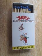 BOITE D'ALLUMETTES / FILM 1985 ASTERIX ET LA SURPRISE DE CESAR GOSCINNY UDERZO - Cajas De Cerillas (fósforos)