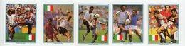 Paraguay 1989-Coupe Du Monde De Football En Italie-Joueurs-MI 4434/8*** - Coupe Du Monde