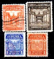 Guatemala-0115a - Emissione 1942-43 (o) Used - - Guatemala
