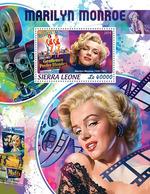 Sierra Leone. 2018 Marilyn Monroe. (415b) - Cinema