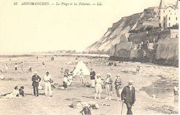 (14) Calvados - CPA - Arromanches - La Plage Et Les Falaises - Arromanches