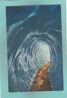 Old Postcard Of Eisgrotte,Rhonegletscher,Switzerland ,V60. - Other