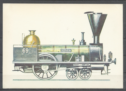 "Hungary, ""Heves"" Engine,1846, Museum Of Transport, Budapest. - Treni"