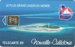 Nouvelle Caledonie Telecarte Phonecard NC16 Phare Amedee 25 Unites Ut AVEC Numero - Nouvelle-Calédonie