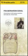 Croatia 2018 / Fr. Bernardin Sokol / Franciscan, Baptismal Name Luka / Prospectus, Leaflet, Brochure - Croatie