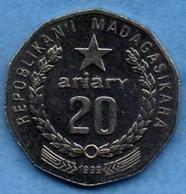 (r65)  MADAGASCAR   REP  20 Ariary 1999 - Madagascar