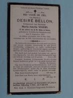DP Desiré BELLON ( Maria SEGERS ) St. Gillis Bij Dendermonde 21 Aug 1853 - 13 Mei 1923 ( Details Zie Foto's ) ! - Avvisi Di Necrologio