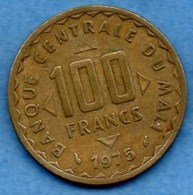 (r65)  MALI  100 Francs 1975 FAO - Mali (1962-1984)