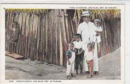 Familia Indiana SAN BLAS Rep. De Panama - Panama