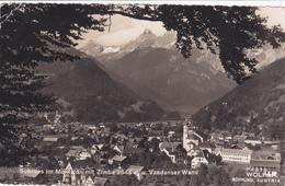 AUTRICHE,OSTERREICH,AUSTRIA,VORARLBERG,SCHRUNS, Station En été,rare,photo WOLF - Autriche