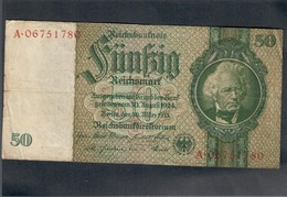 GERMANIA GERMANY 50 MARK 1933 LOTTO 1865 - [ 5] 1945-1949 : Allies Occupation