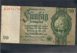 GERMANIA GERMANY 50 MARK 1933 LOTTO 1865 - 5 Mark
