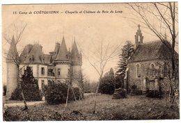Camp De Coetquidan Chapelle Et Chateau Du Bois Du Loup - Guer Coetquidan