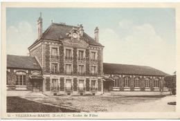 VILLIERS-sur-MARNE (S.-et-O.) - Ecoles De Filles - Villiers Sur Marne