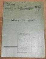 Manuel Du Mécanicien- Frein A Air Comprimé – Tome I Description Des Appareils - Railway & Tramway