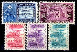 Guatemala-0148 - Emissione Di P.A.  1943-1945 (+/o) Hinged/Used - - Guatemala