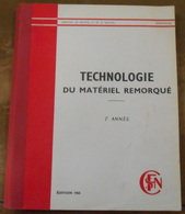 Technologie Du Matériel Remorqué – 2ème Année - Chemin De Fer & Tramway