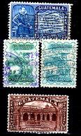 Guatemala-0149 - Emissione Di P.A.  1943-1945 (o) Used - - Guatemala