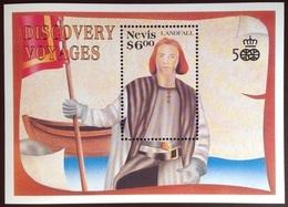 Nevis 1991 Columbus Minisheet MNH - St.Kitts And Nevis ( 1983-...)
