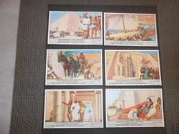 LIEBIG ( 551 ) - NL - 6 Chromos N° 1 à 6 :  Geschiedenis Van Egypte ( Egypt ) - Liebig