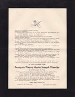 TURNHOUT GODINNE François Pierre DIERCKX Jésuite Compagnie De Jésus 1863-1937 Collège Notre-Dame De La Paix Namur - Esquela