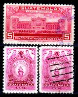 Guatemala-0151 - Emissione Di P.A.  1945 (+/o) LH/Used - - Guatemala
