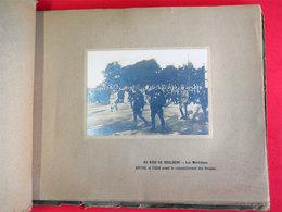Ww1 RARE Album 40 Vraies Photos Paris 1919 Fêtes De La Victoire Service Photographique & Cinématographique De Guerre - Guerre, Militaire